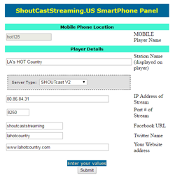 Home Page - ShoutcastStreaming